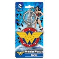 Wonder Woman Logo Colored Pewter Key Ring - Multi