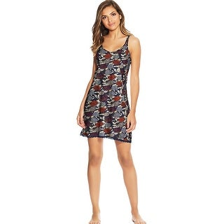 Link to Maidenform Lace Trim Chemise - Color - Winter Floral - Size - M Similar Items in Intimates