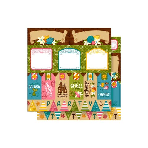 400761 imaginisce party me hearty paper 12x12 shellabrate