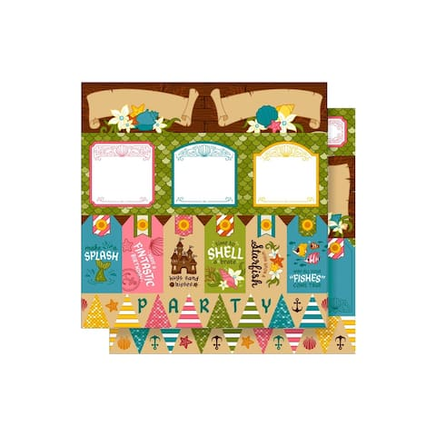 Imaginisce Party Me Hearty Paper 12x12 ShellABrate