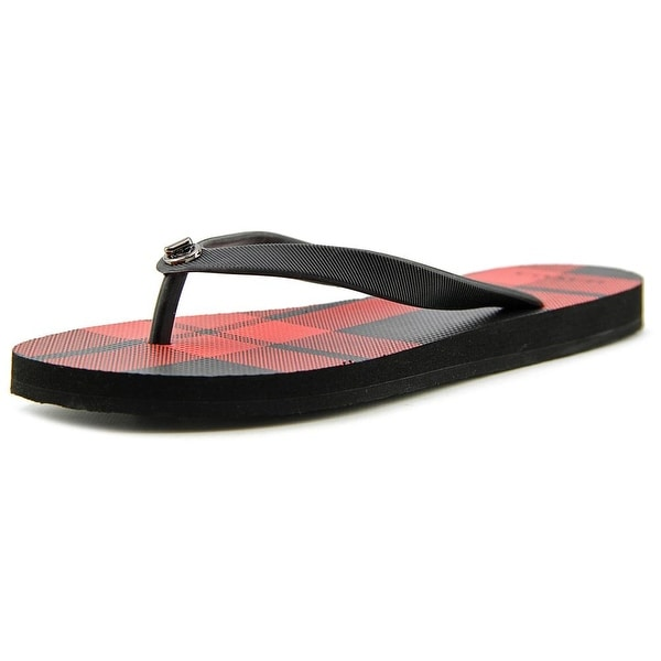Coach Alyssa Open Toe Synthetic Flip Flop Sandal