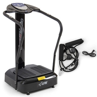 Akonza 2000W Crazy Fit Whole Body Vibration Plate Machine Massager Trainer, Black