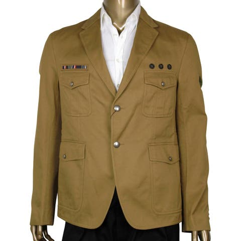 Gucci Light Brown Cotton Jacket 380724 2584 (G 52 / US 42) - G 52 / US 42