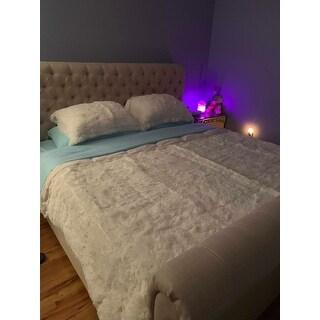 Intelligent Design Leena Shaggy Faux Fur Comforter Set 2-Color Option