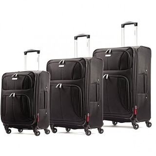 Samsonite Aspire Xlite Spinner 3 Piece Set, Black