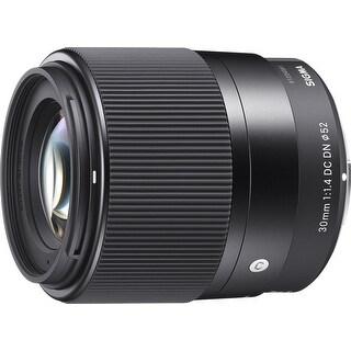 Sigma 30mm f/1.4 DC DN Contemporary Lens for Micro Four Thirds Cameras - Black