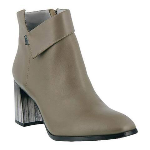 Azura Women's Esmae Bootie Grey Glove Leather