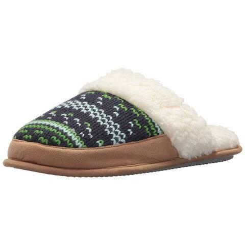 Dearfoams Womens Dearfoams Closed Toe Slip On Slippers
