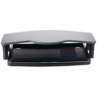 Kensington Desktop Comfort Keyboard Drawer With Smartfit System, Includes Monitor Shelf, Wrist Wrest And Mouse Pad  (K60