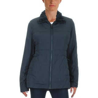The North Face Womens Harway Puffer Coat Reversible Faux Fur - M