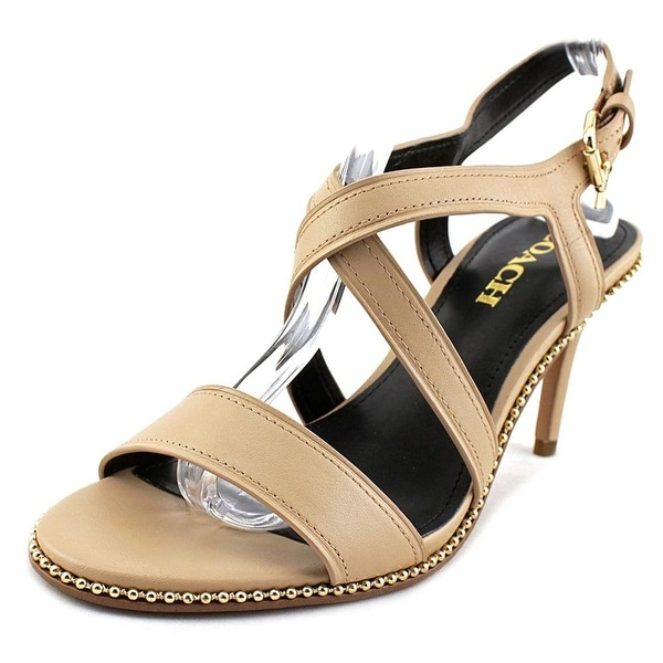 b775bb85c1f Shop Coach Womens Wendi Open Toe Casual Strappy Sandals - Free ...