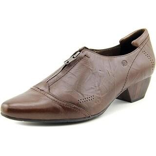 Josef Seibel Kylie 09 Women Cap Toe Leather Brown Loafer