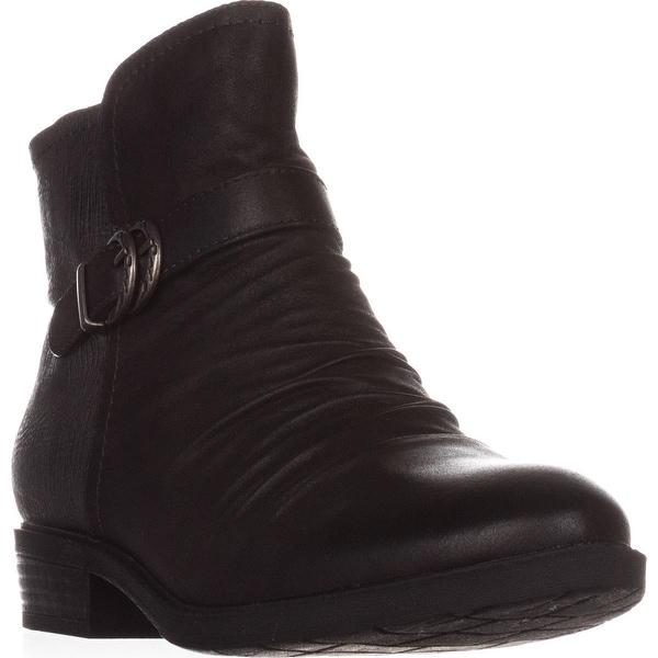 BareTraps Ysidora Flat Comfort Ankle Boots, Gunmetal