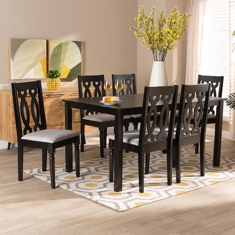 Cherese Modern and Contemporary 7-Piece Dining Set