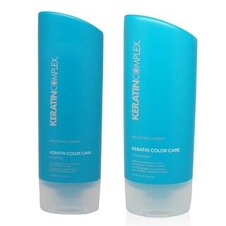 Keratin Complex - Color Care Shampoo and Conditioner Combo 13.5 Oz