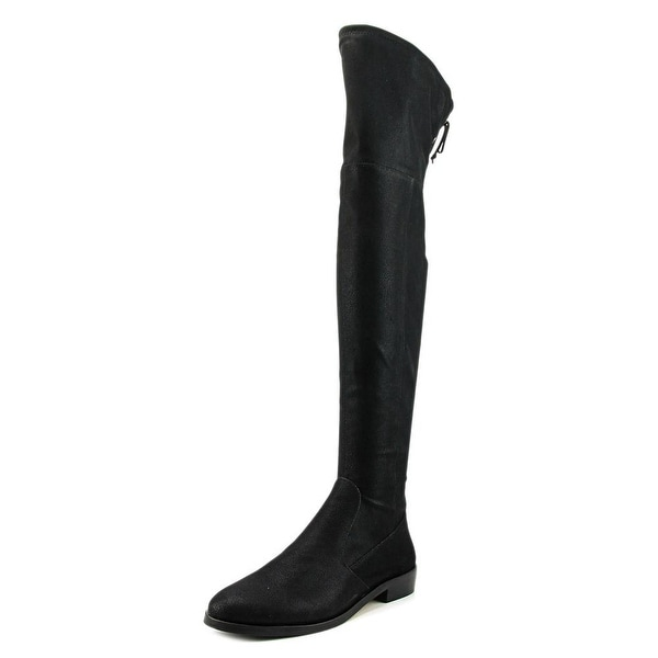Vince Camuto Crisintha Women Round Toe Synthetic Black Over the Knee Boot
