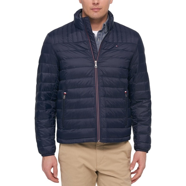 496557c4 Shop Tommy Hilfiger Mens Big & Tall Puffer Coat Winter Down - 4XL - Free  Shipping Today - Overstock - 26430115