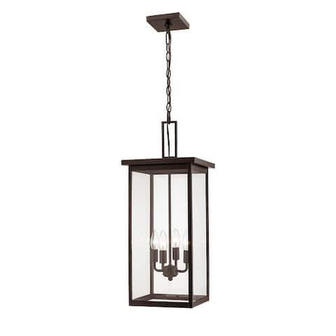 Barkeley Metal Outdoor Hanging Lantern