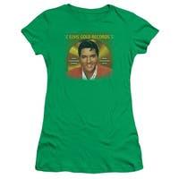 Elvis Gold Records Juniors Short Sleeve Shirt