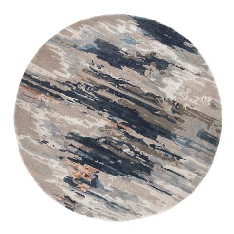 Tennyson Handmade Abstract Area Rug