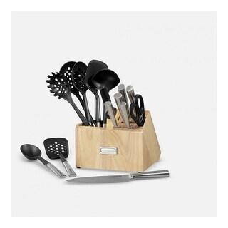 Cuisinart 16 Piece Cutlery Block & Tool Crock Set Cutlery Block and Tool Crock Set