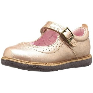 Step and Stride Girls Kate Toddler Faux Leather Mary Janes - 10.5 medium (b,m)