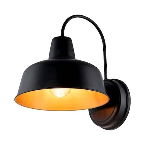 "1-Light Outdoor Barn Light With Dark Bronze finish - 10.54""x12.69""x13"""