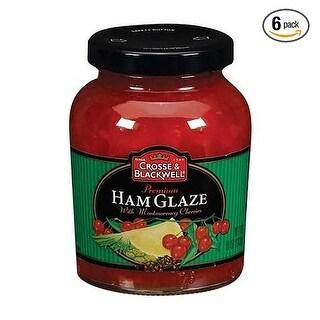 Crosse & Blackwell Ham Glaze - (Case of 6 - 10 oz)