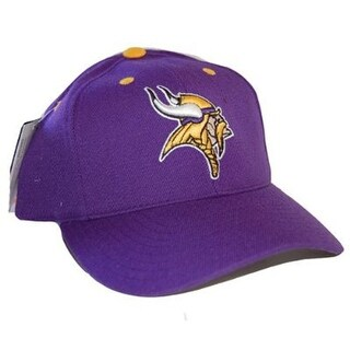 NFL Minnesota Vikings Puma Snapback Adjustable Hat Cap