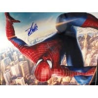 Signed Lee Stan Spiderman 16x20 Photo autographed