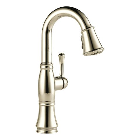 Delta 9997-DST Cassidy Pull-Down Bar/Prep Faucet with Magnetic Docking