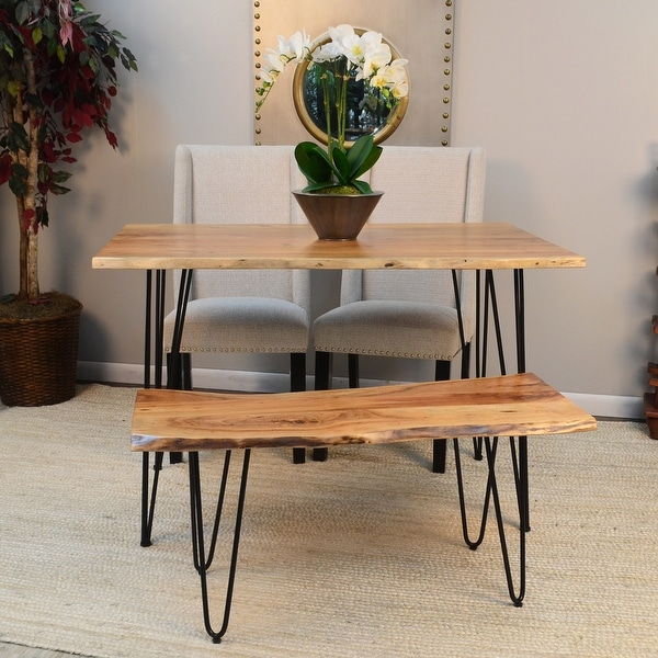 Mila Live Edge Dining Table. Opens flyout.