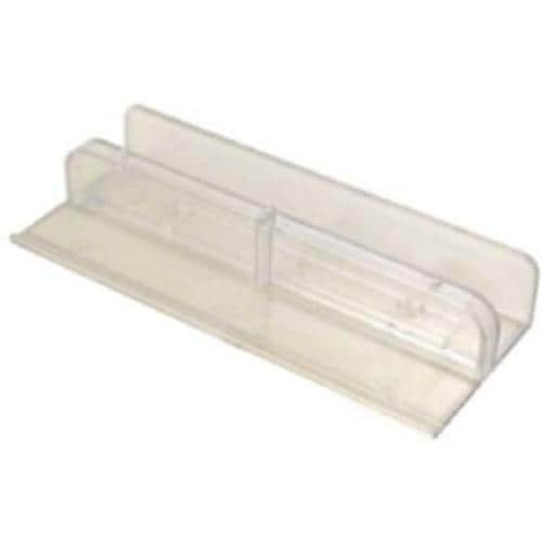 Shower Door Guide Bottom Mount For sliding tub doors 7//16 in thick door rails