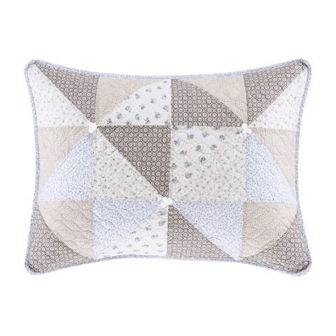 Five Queens Court Phoebe Quilted Pillow Sham