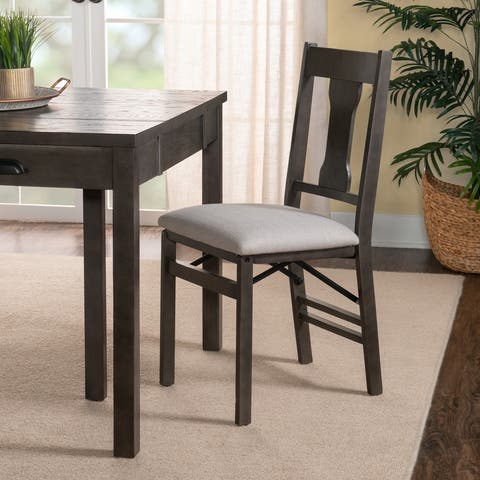 Nevin Grey Side Folding Chair