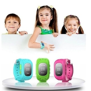 Smart Bracelet Watch Kid Tracker GPS  with  911 & Parent Call Functions