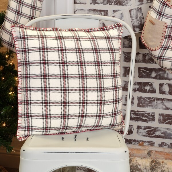 Amory Plaid Pillow 16x16. Opens flyout.