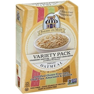 Bakery On Main - Instant Oatmeal Variety Pack ( 6 - 10.5 oz boxes)