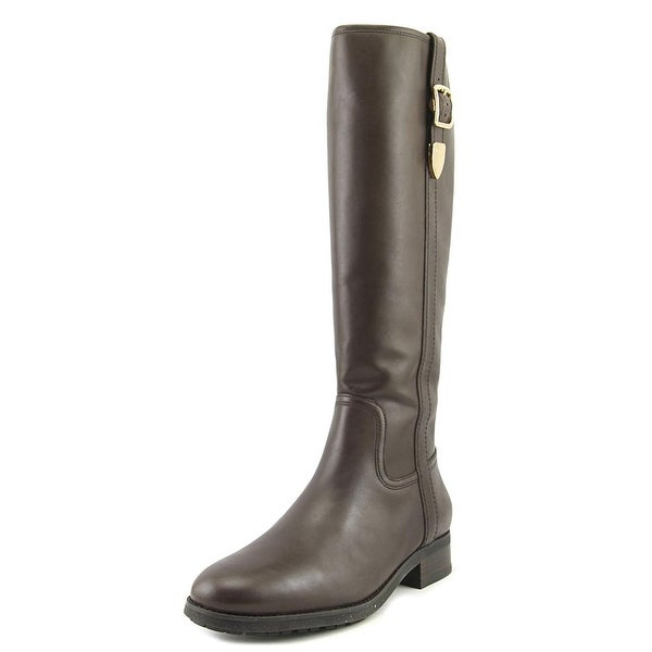 Coach Easton Semi Matte Calf Women Chestnut Boots