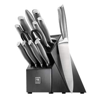 J.A. Henckels International Modernist 13-pc Knife Block Set - Black|https://ak1.ostkcdn.com/images/products/is/images/direct/8d799b6148a3587ec6d1171fc74fb154d00d5e99/J.A.-Henckels-International-Modernist-13-pc-Knife-Block-Set.jpg?impolicy=medium