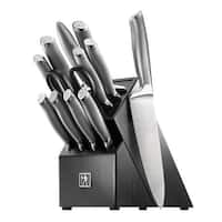 J.A. Henckels International Modernist 13-pc Knife Block Set - Black