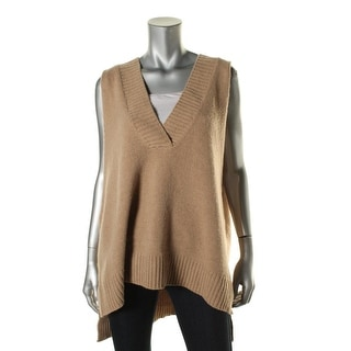 Free People Womens Wool Blend Swing Casual Vest - S