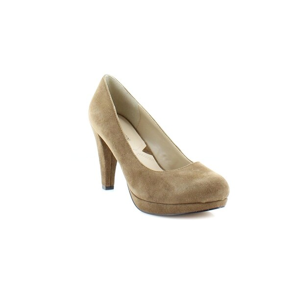 Adrienne Vittadini Prestin Women's Heels Taupe