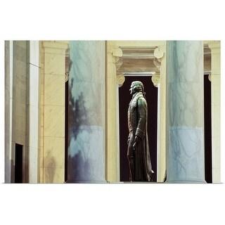 """""""Thomas Jefferson Memorial in Washington DC, USA"""" Poster Print"""