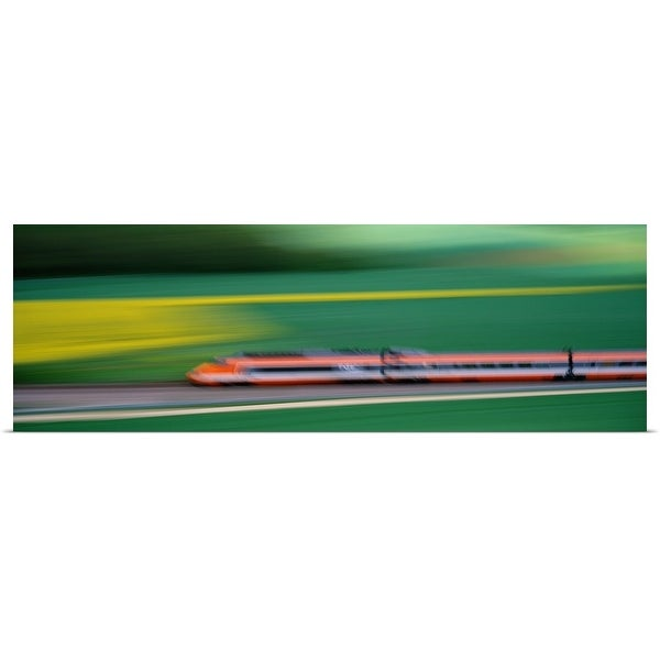 Shop Poster Print entitled TGV High-speed train France ...