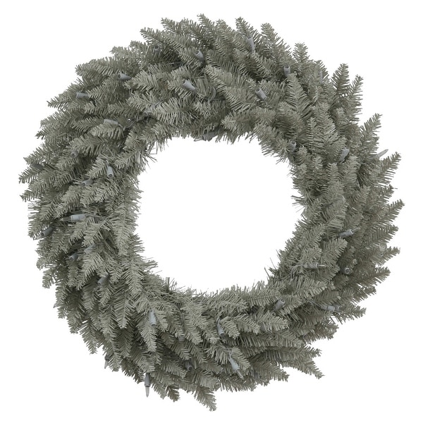 "24"" Grey Fir Wreath 210T"