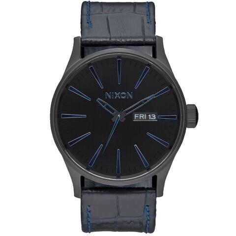 Nixon Men's Sentry Black Dial Watch - A105-2153 - One Size