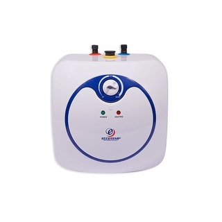 Eccotemp EM-4.0  4.0 GPM 1.44 Kilowatt 110 Volt Electric Point of Use Mini Tank Water Heater - White