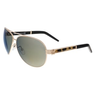 Roberto Cavalli RC892S GORGONEA 28F Rose Gold Aviator Sunglasses