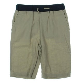 Vince Womens Casual Shorts Linen Blend Casual - L